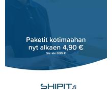 Kotimaanpaketit nyt alkaen 3,95 € + alv