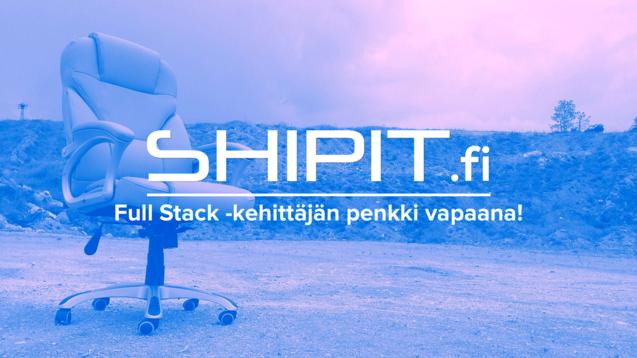 Avoin työpaikka: Full Stack -kehittäjä tekemään maailman helpointa pakettien lähetyspalvelua!